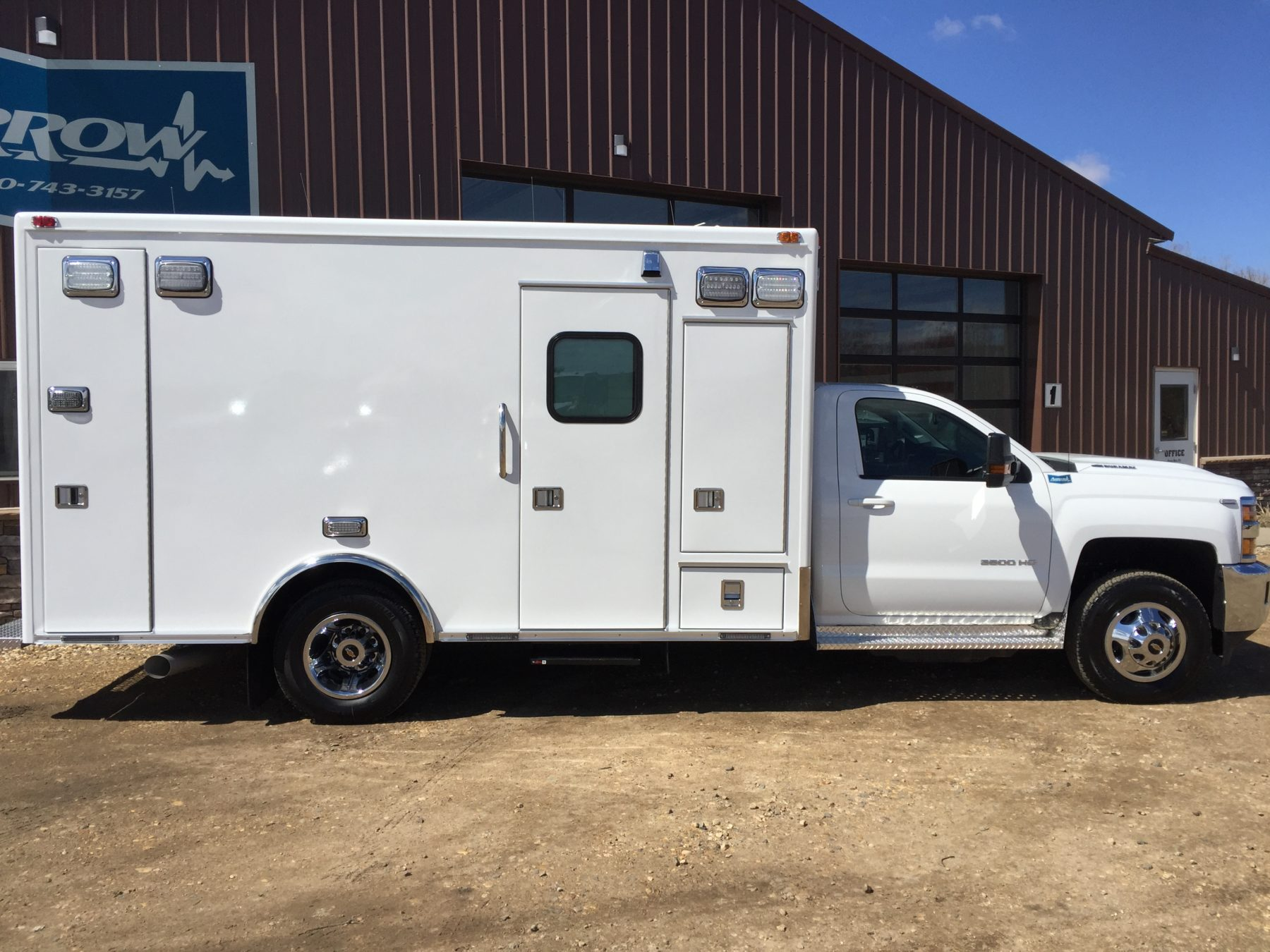 2017 Chevrolet K3500 4x4 Type 1 Ambulance For Sale – Picture 4