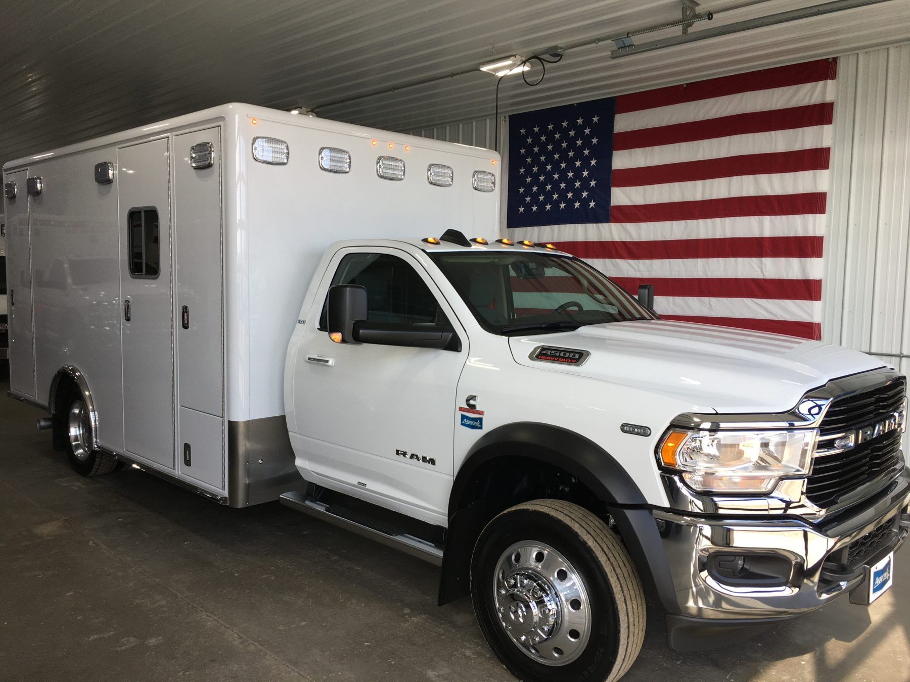 2019 Ram 4500 4x4 Heavy Duty Ambulance For Sale – Picture 1