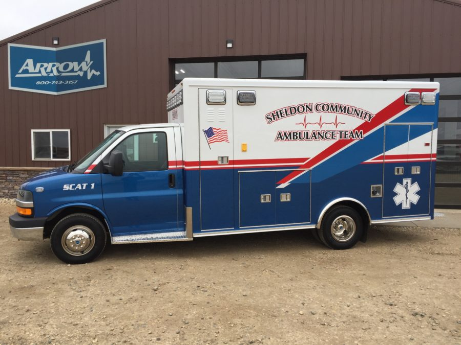 2016 Chevrolet G4500 Type 3 Ambulance