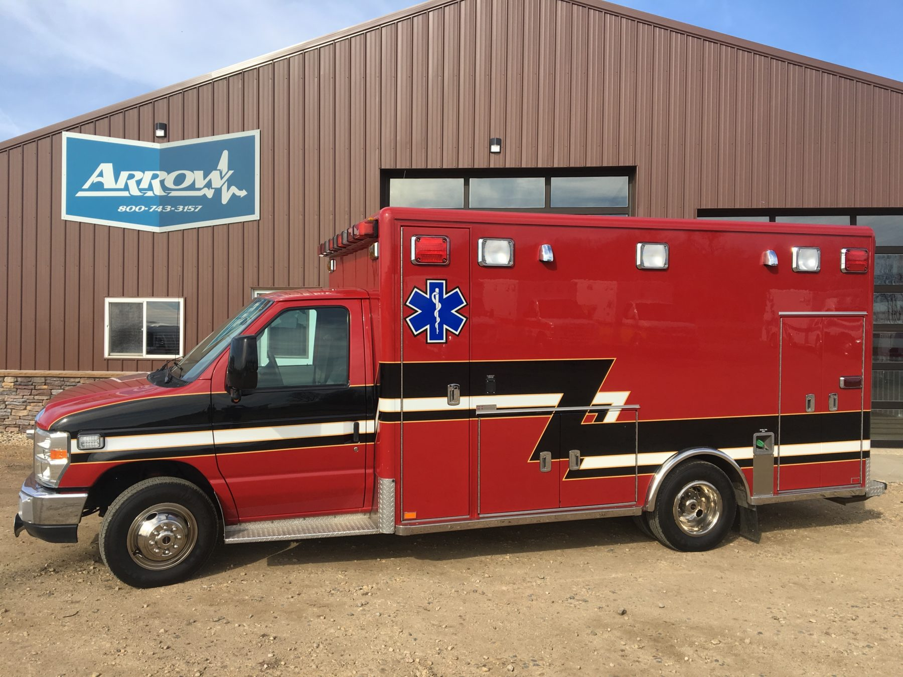 2008 Ford E450 Type 3 Ambulance For Sale – Picture 1