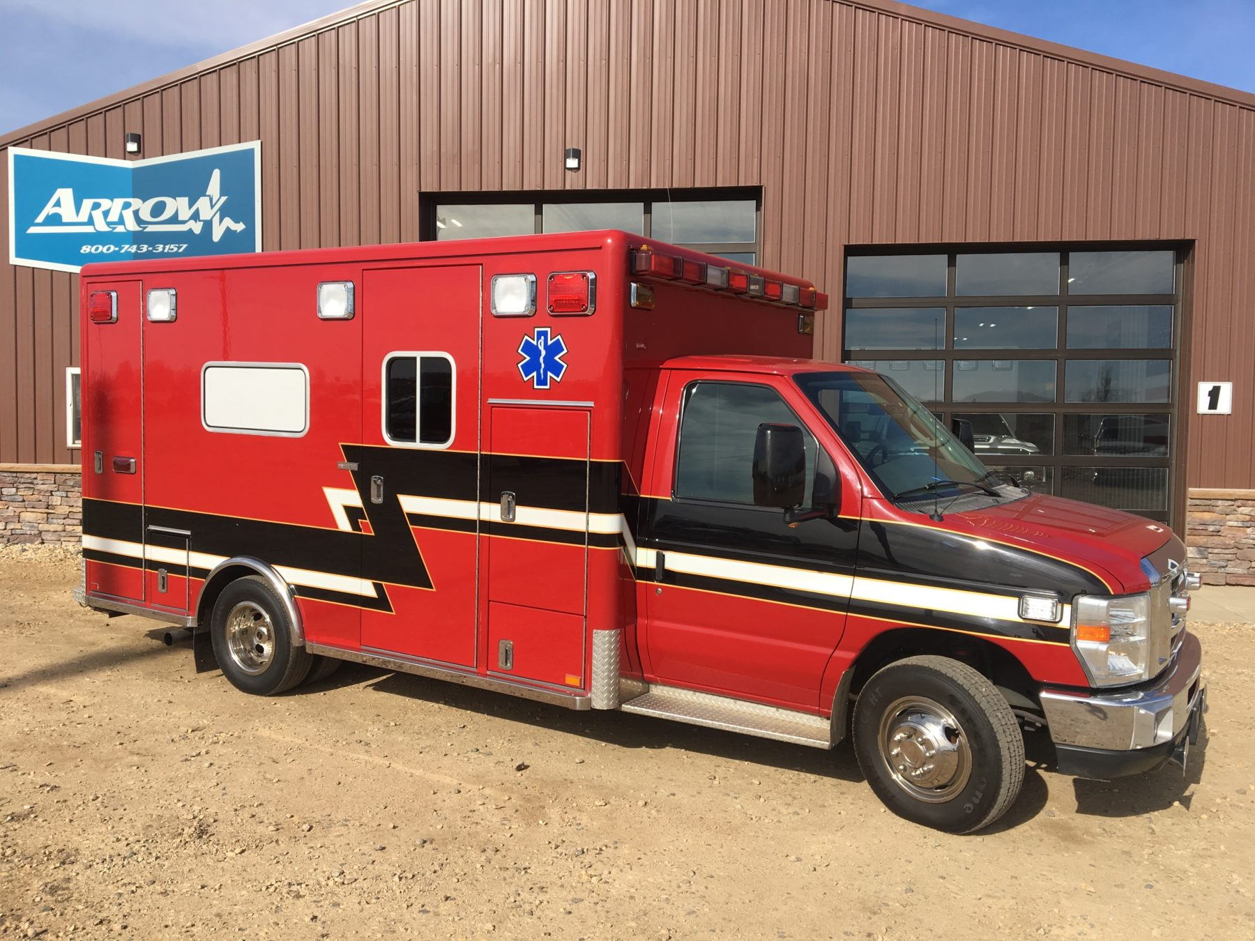 2008 Ford E450 Type 3 Ambulance For Sale – Picture 3