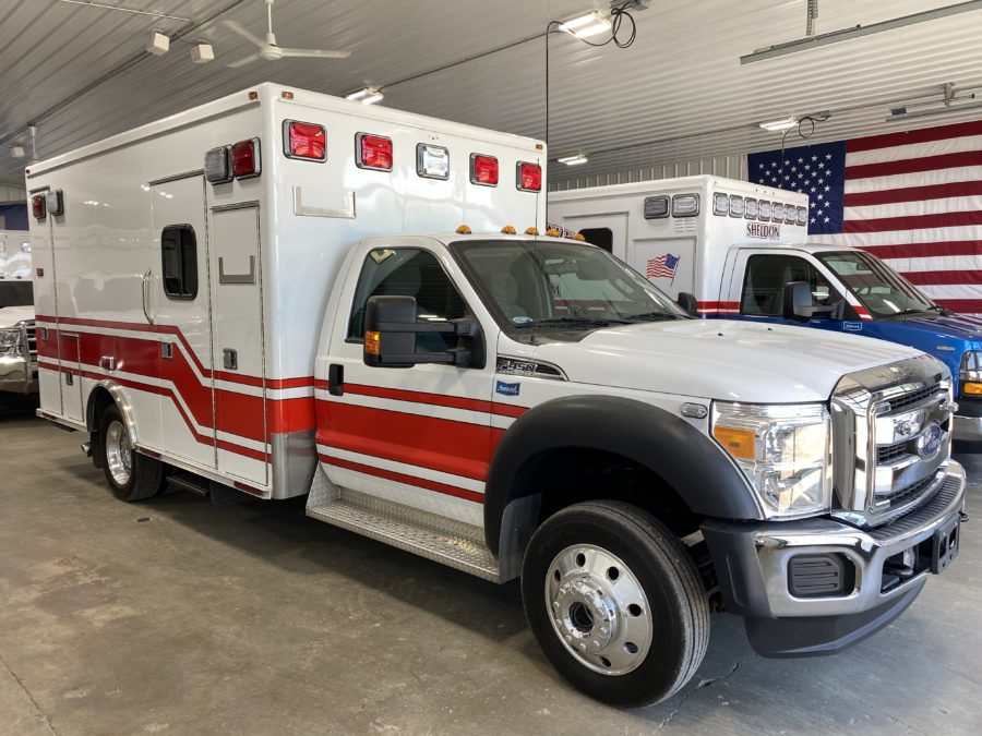 2015 Ford F450 4x4 Heavy Duty Ambulance For Sale – Picture 1