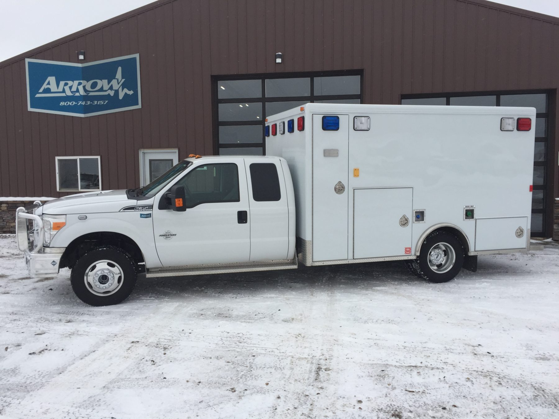 2013 Ford F350 4x4 Type 1 Ambulance For Sale – Picture 1