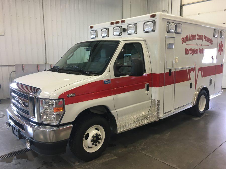Ambulance delivered to Northglenn Ambulance