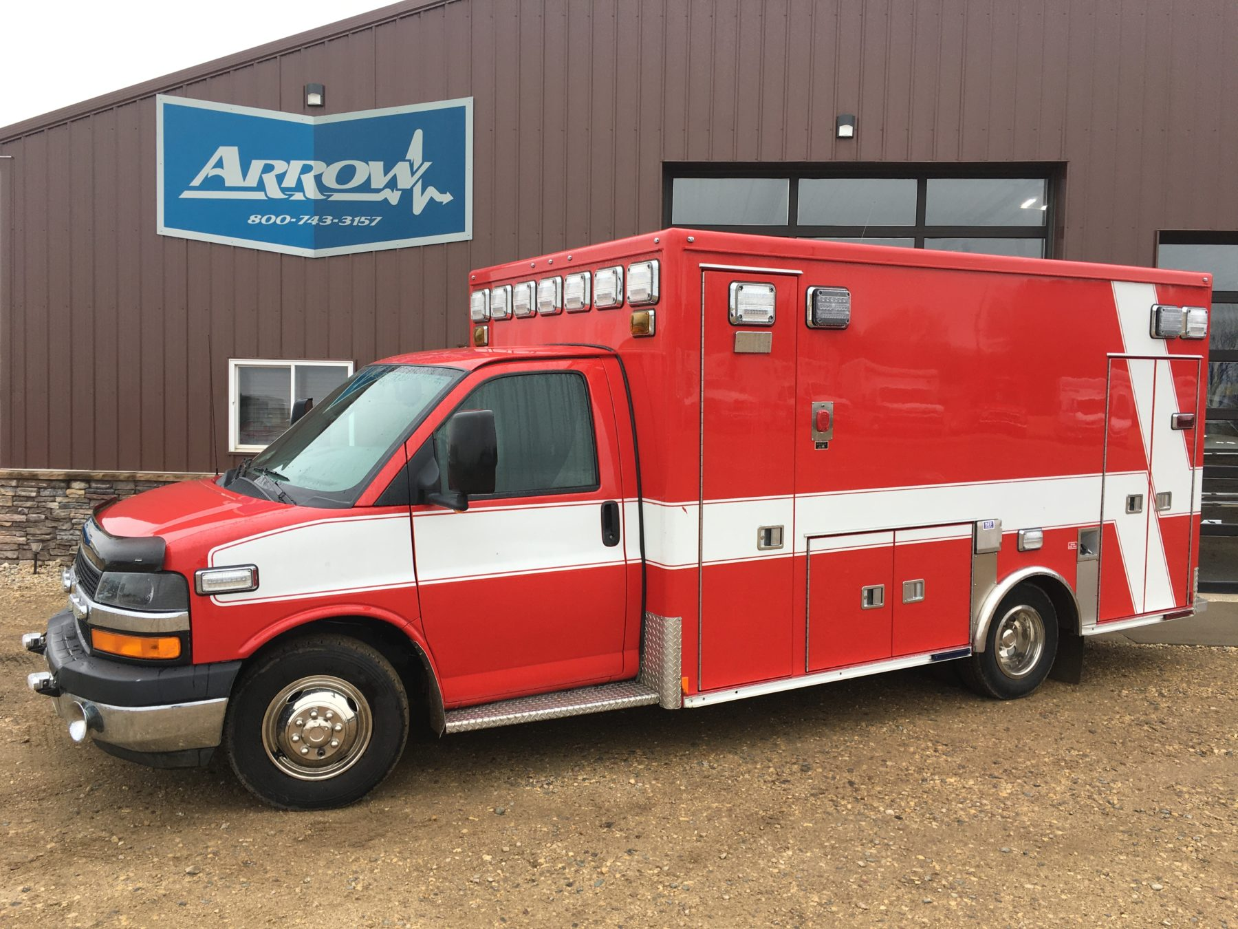 2011 Chevrolet G4500 Type 3 Ambulance For Sale – Picture 1