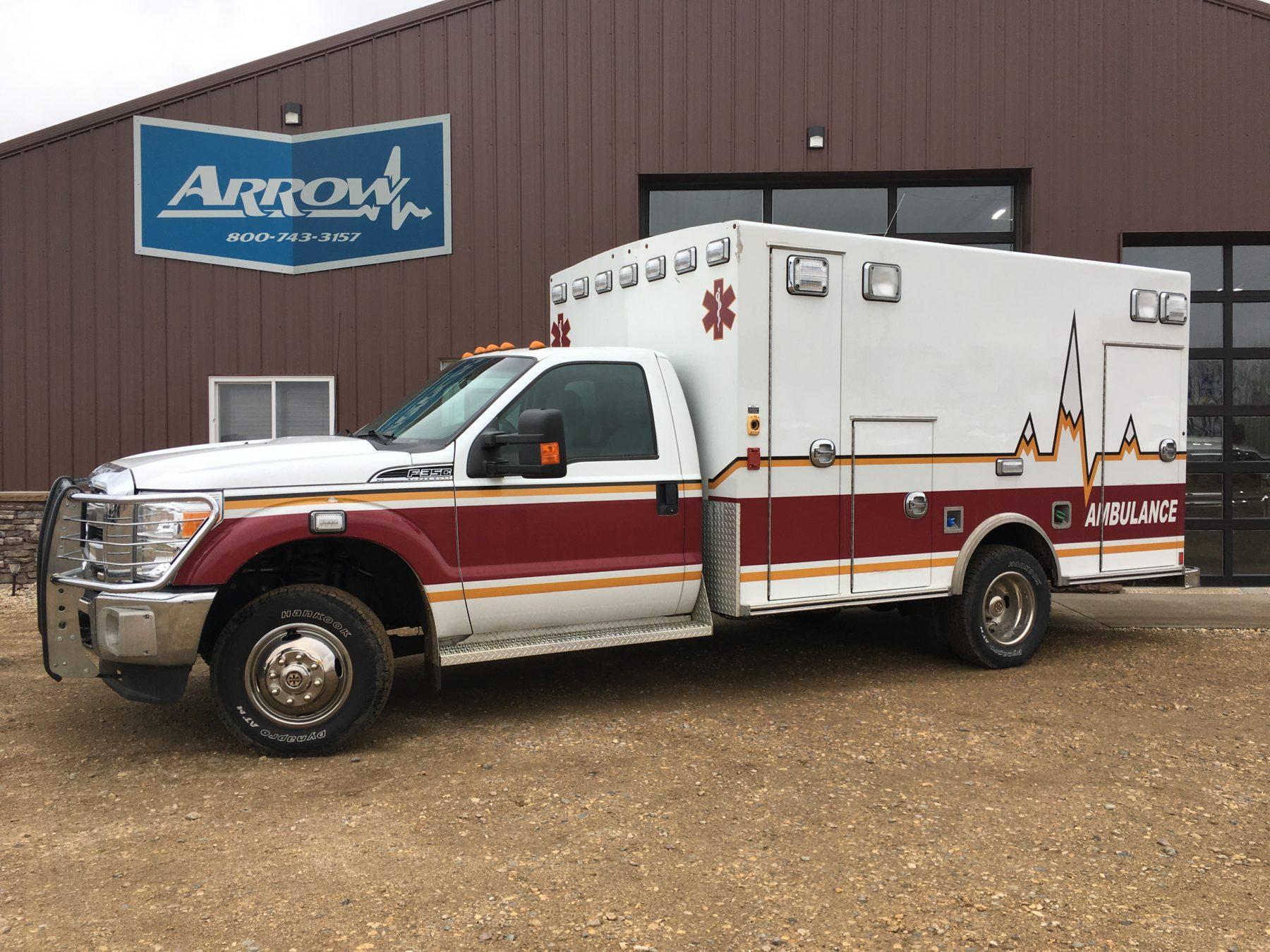 2012 Ford F350 4x4 Type 1 Ambulance For Sale – Picture 1