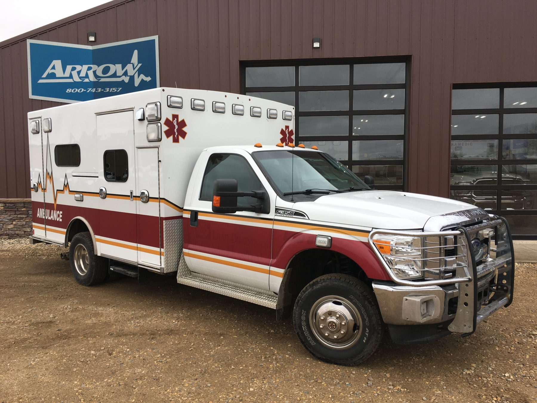 2012 Ford F350 4x4 Type 1 Ambulance For Sale – Picture 3