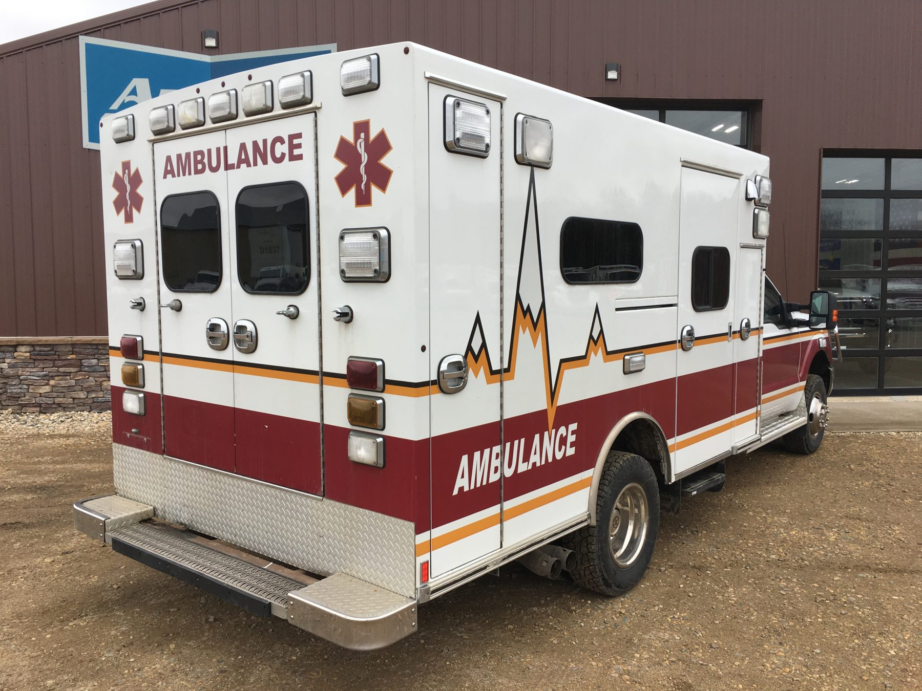 2012 Ford F350 4x4 Type 1 Ambulance For Sale – Picture 10