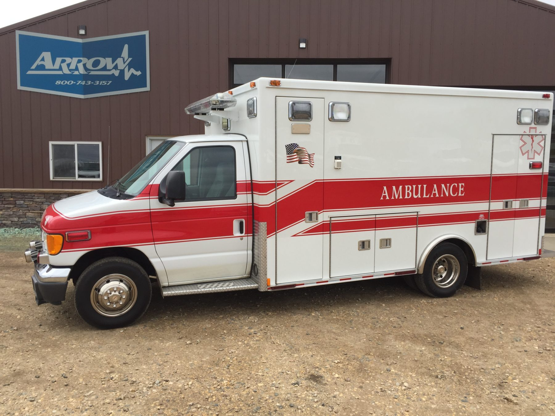 2005 Ford E450 Type 3 Ambulance For Sale – Picture 1