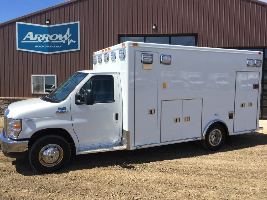 2017 Ford E450 Type 3 Ambulance delivered to Valley Ambulance Service in Scottsbluff, NE