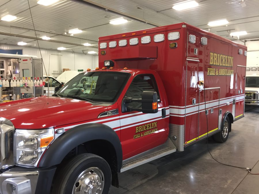 2012 Ford F550 Type 1 4x4 Ambulance