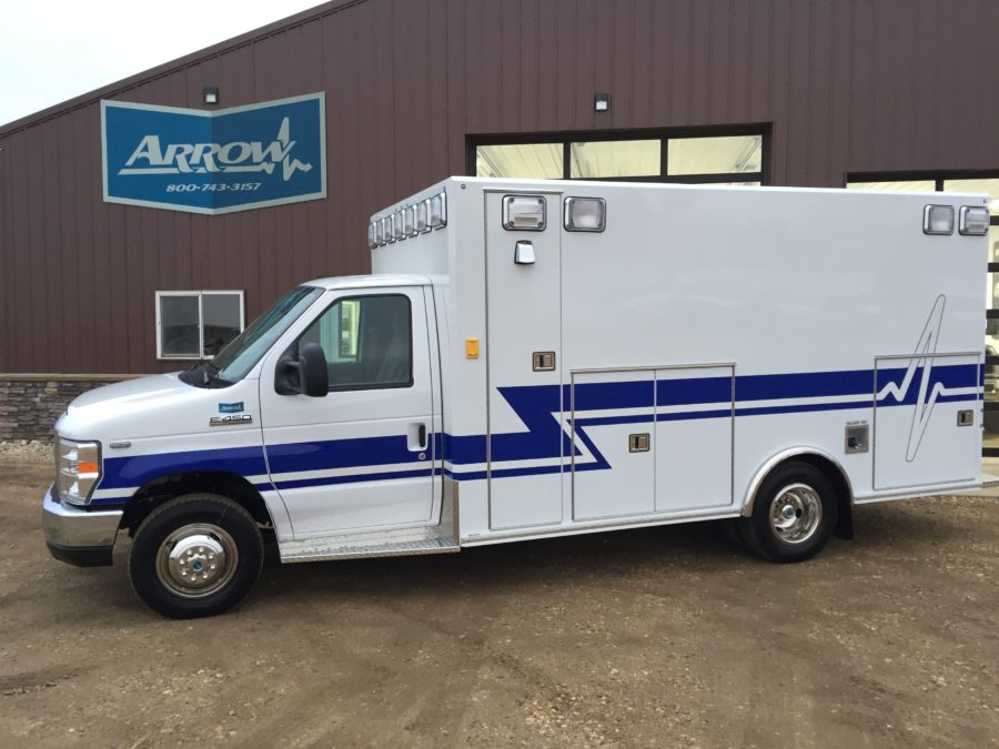 2017 Ford E450 Type 3 Ambulance delivered to Falls City Volunteer Ambulance in Falls City, NE