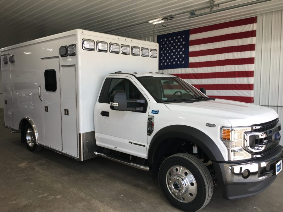 2020 Ford F450 4x4 Heavy Duty Ambulance For Sale – Picture 1