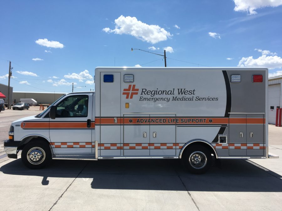 Ambulance delivered to Valley Ambulance Service