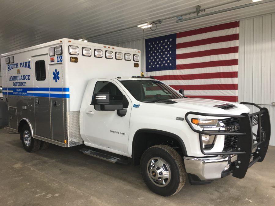 2021 Chevrolet K3500 Type 1 4x4 Ambulance