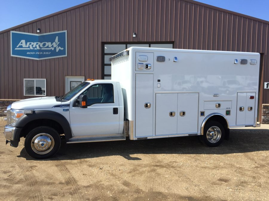 2016 Ford F450 4x4 Heavy Duty Ambulance For Sale