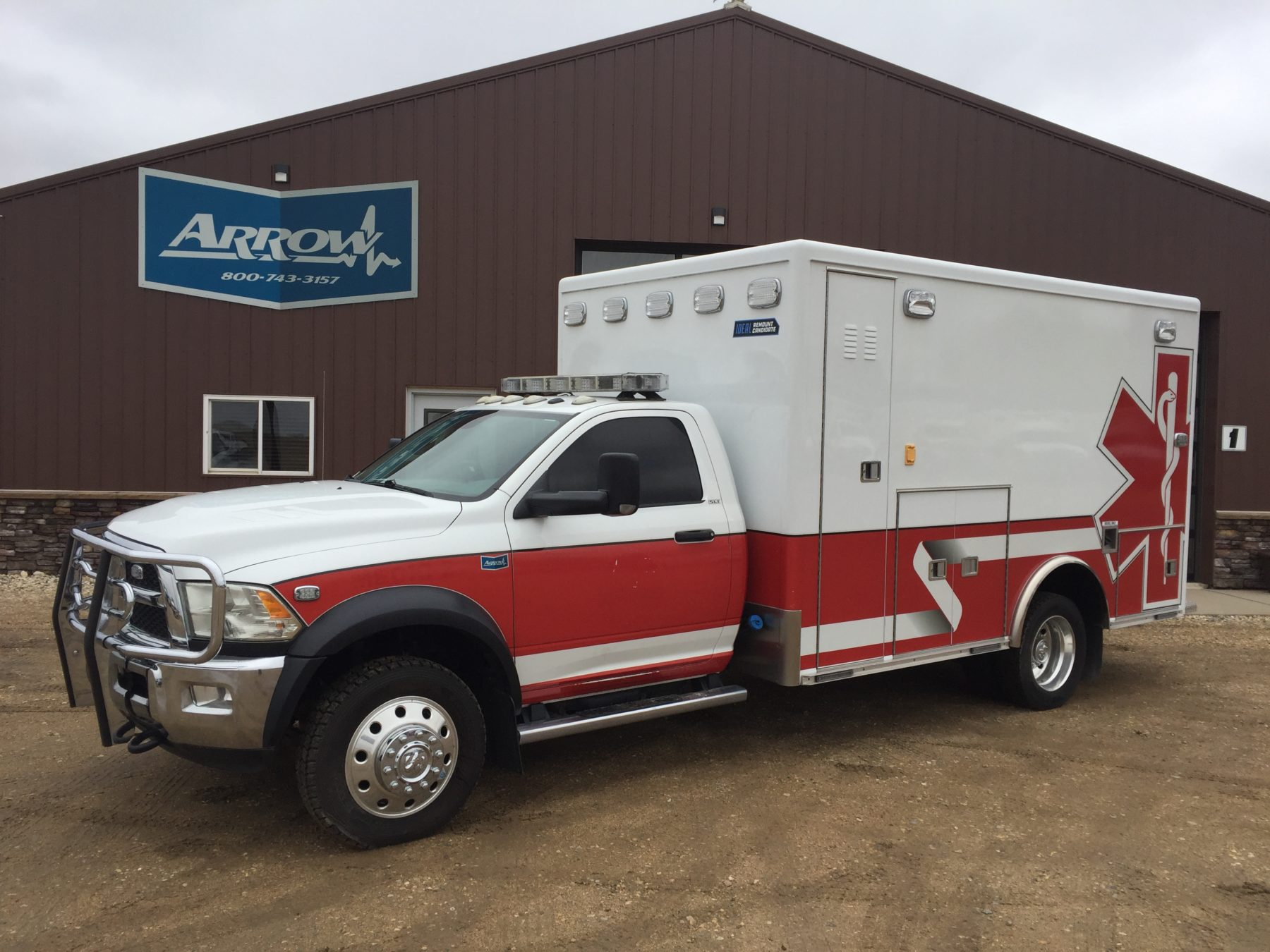 2015 Dodge 4500 4x4 Heavy Duty Ambulance For Sale – Picture 1