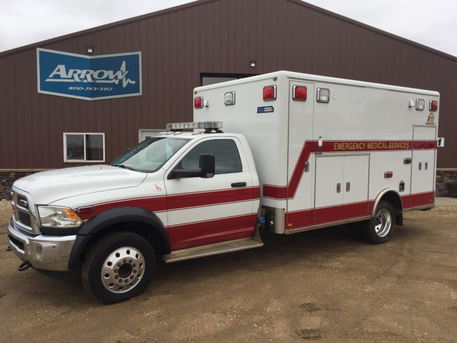 2012 Dodge 4500 Heavy Duty Ambulance For Sale