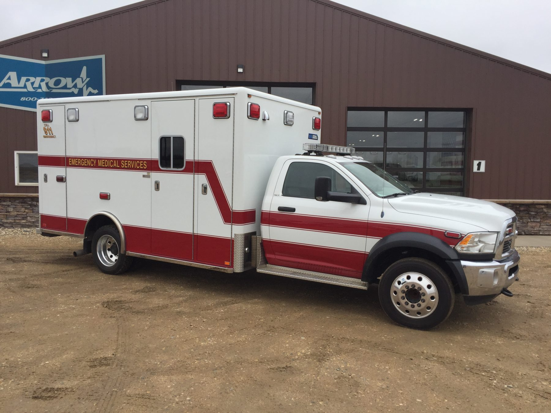 2012 Dodge 4500 Heavy Duty Ambulance For Sale – Picture 3