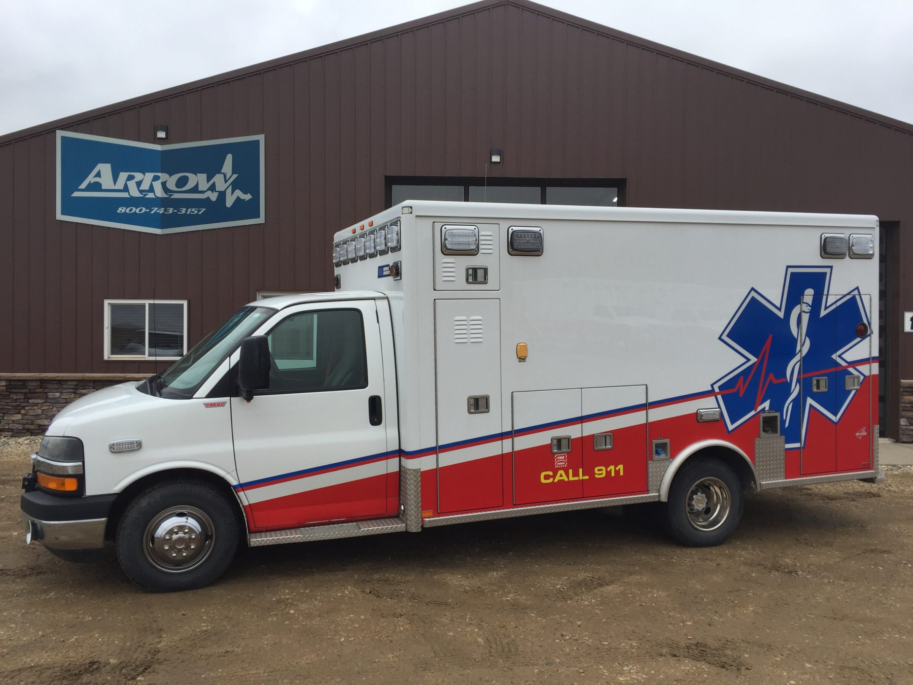 2012 Chevrolet G4500 Type 3 Ambulance For Sale – Picture 4