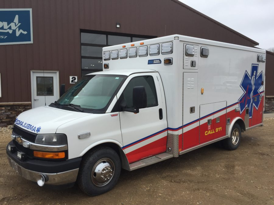 2012 Chevrolet G4500 Type 3 Ambulance For Sale