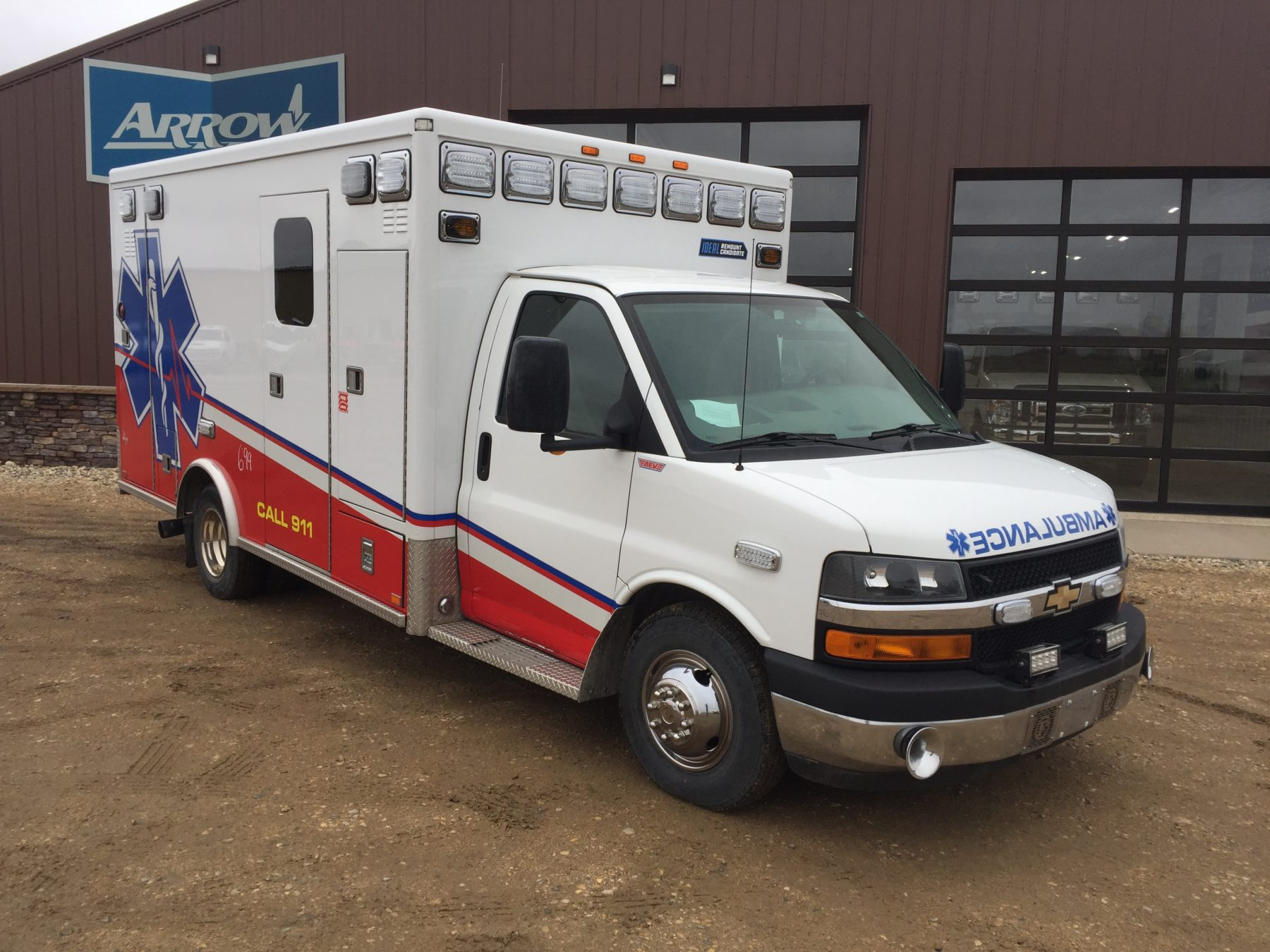 2012 Chevrolet G4500 Type 3 Ambulance For Sale – Picture 3