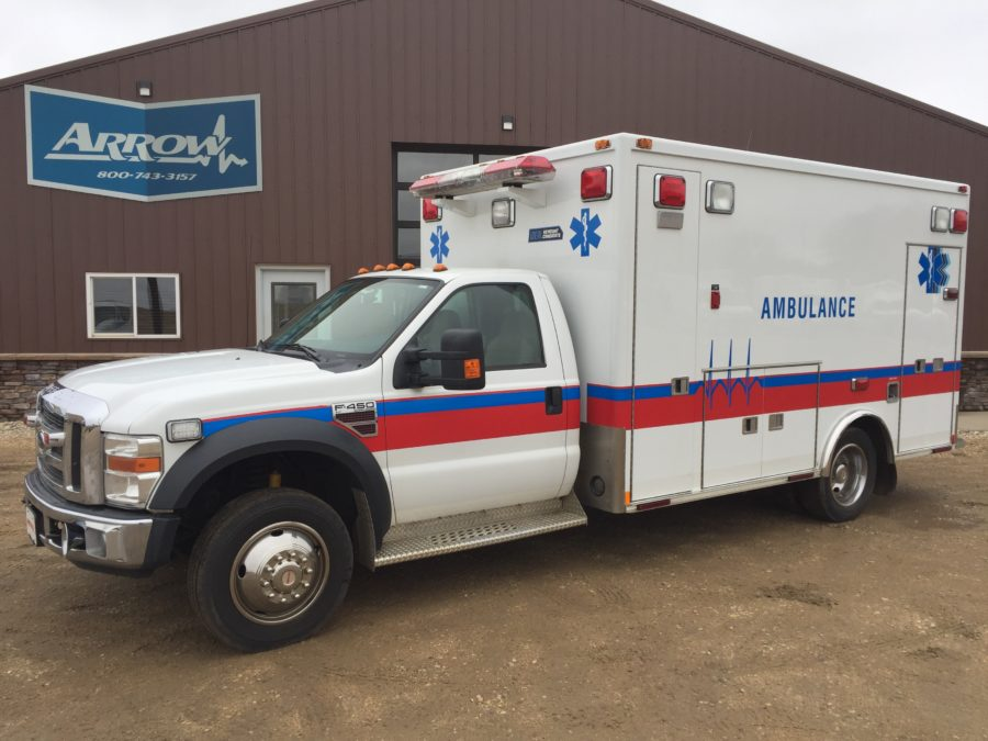 2008 Ford F450 Heavy Duty Ambulance For Sale – Picture 1
