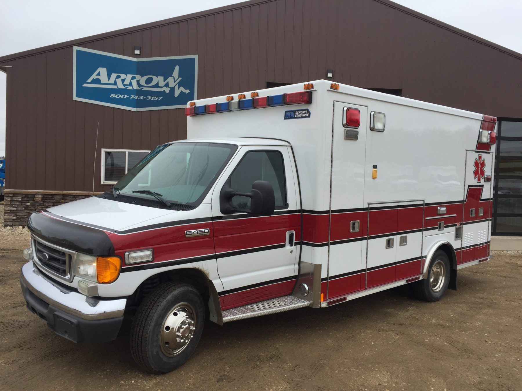 2007 Ford E450 Type 3 Ambulance For Sale – Picture 1