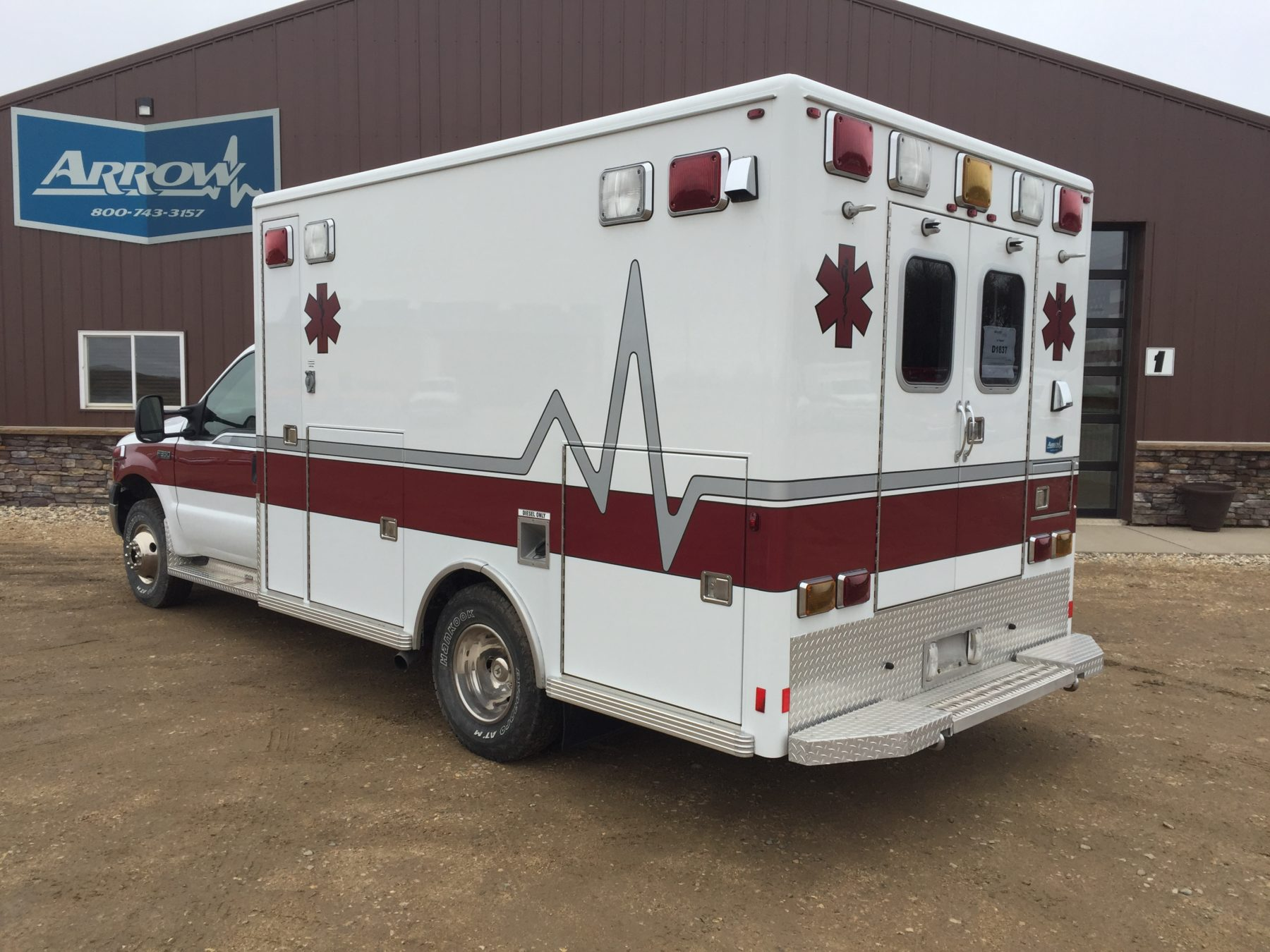 2002 Ford F350 4x4 Type 1 Ambulance For Sale – Picture 12