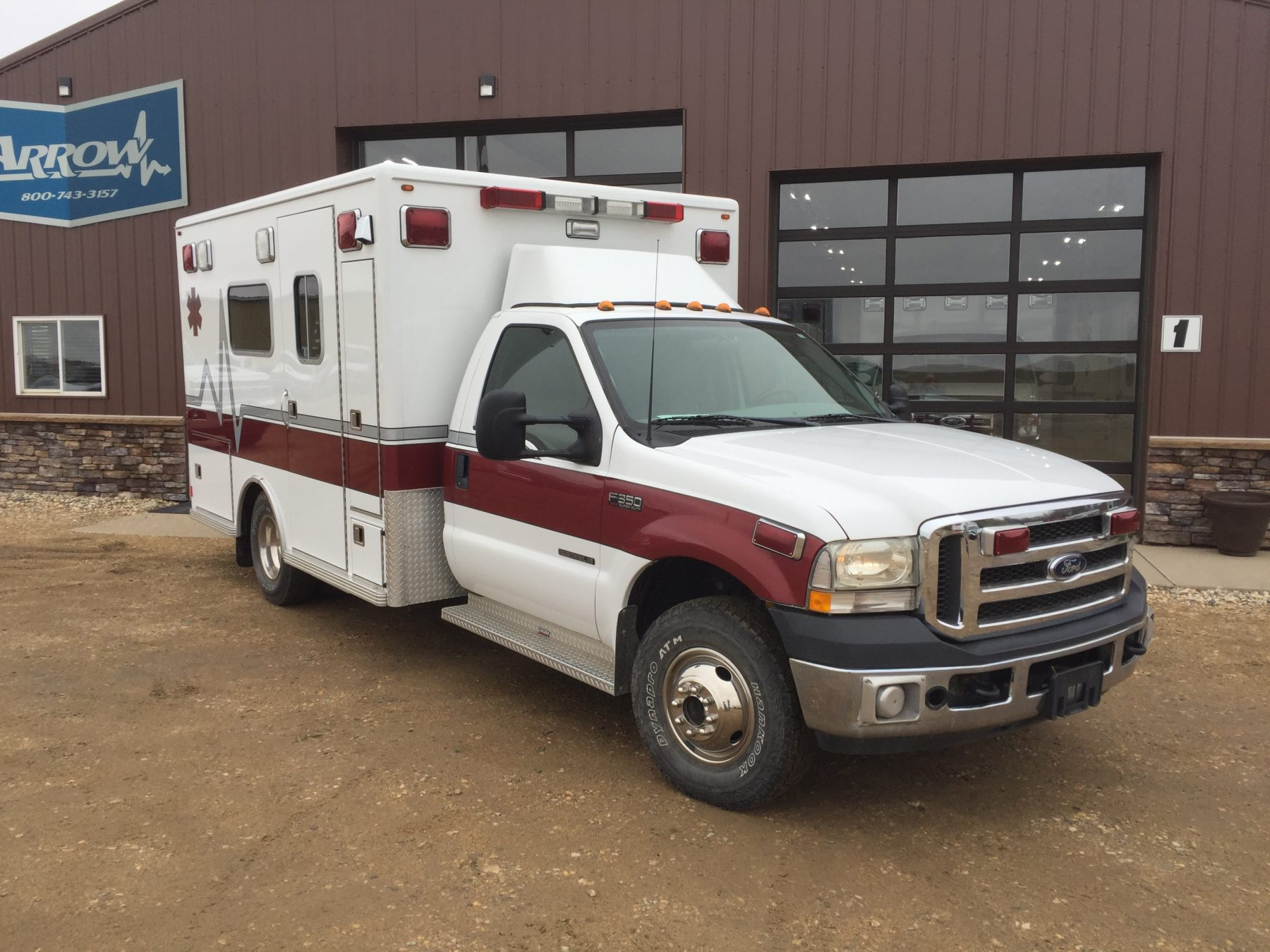 2002 Ford F350 4x4 Type 1 Ambulance For Sale – Picture 3