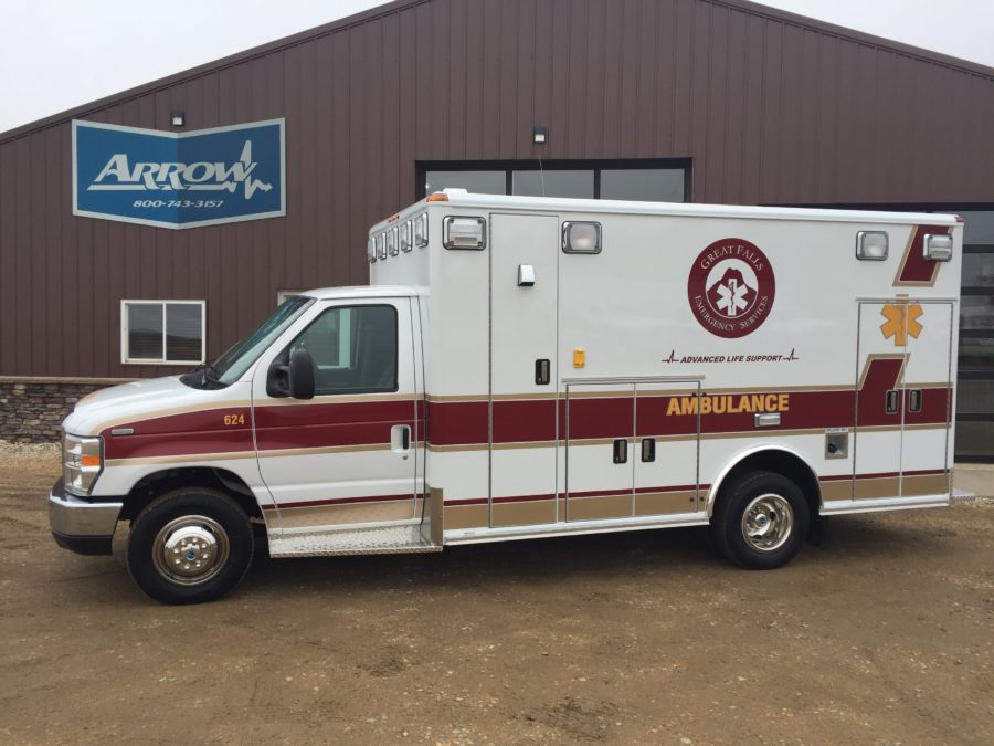Ambulance delivered to Great Falls Emergency Services