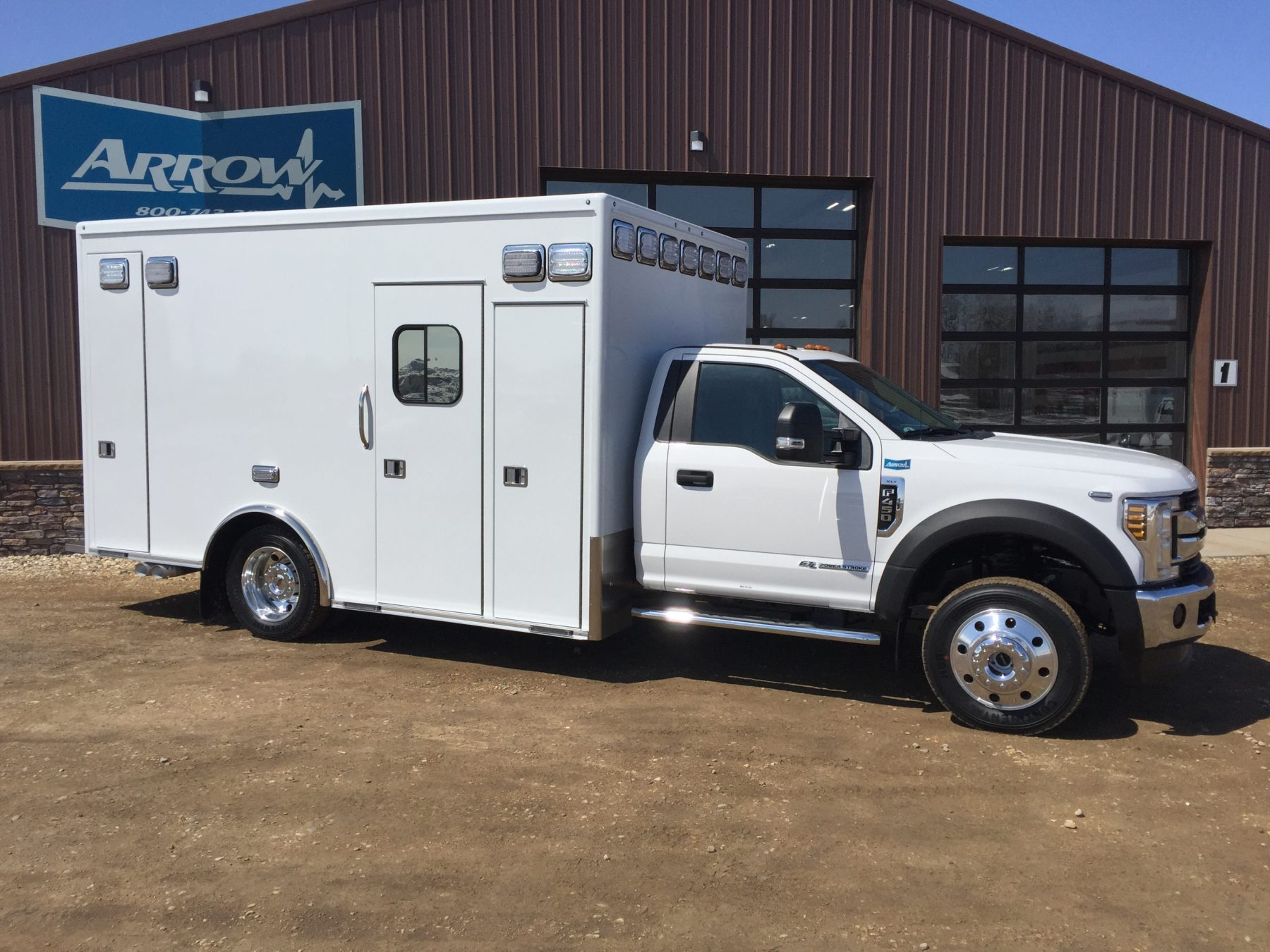 2018 Ford F450 4x4 Heavy Duty Ambulance For Sale – Picture 3