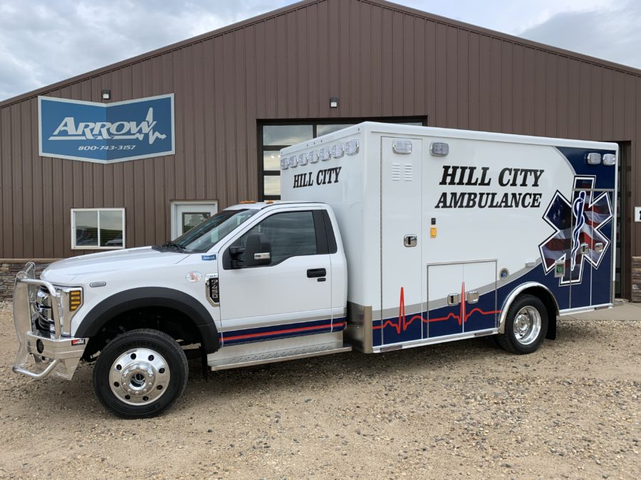 2019 Ford F450 Heavy Duty 4x4 Ambulance