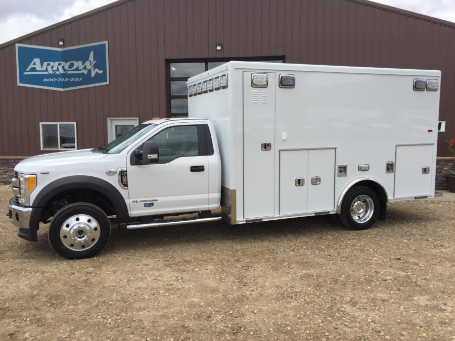 2017 Ford F450 4x4 Heavy Duty Ambulance For Sale