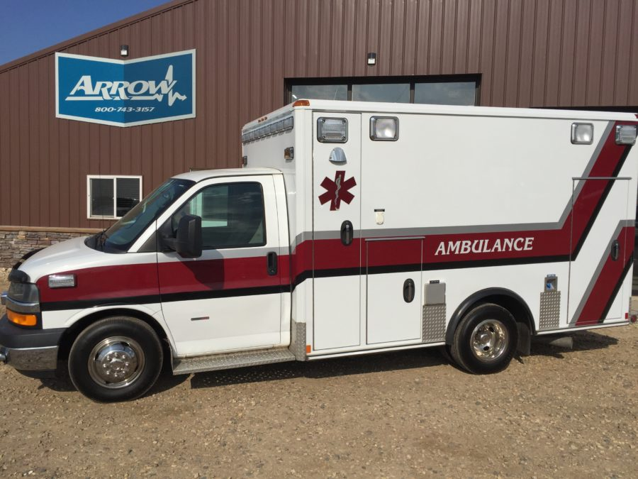 2012 Chevrolet G3500 Type 3 Ambulance For Sale