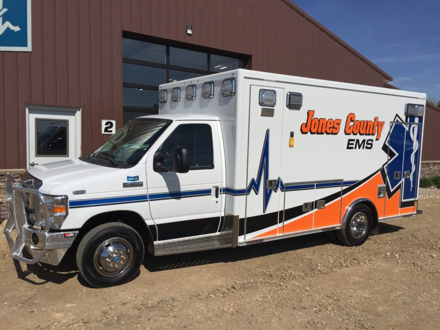 Ambulance delivered to Jones County Ambulance