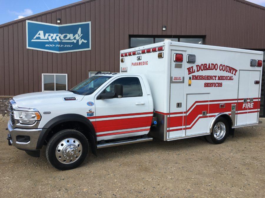2020 Ram 4500 Heavy Duty 4x4 Ambulance delivered to El Dorado County in Diamond Springs, CA