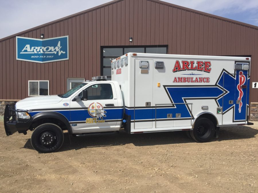 2018 Ram 4500 Heavy Duty 4x4 Ambulance delivered to Arlee Ambulance in Arlee, MT