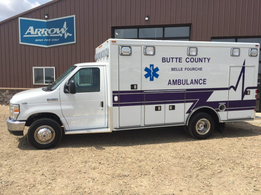 Ambulance delivered to Butte County Ambulance