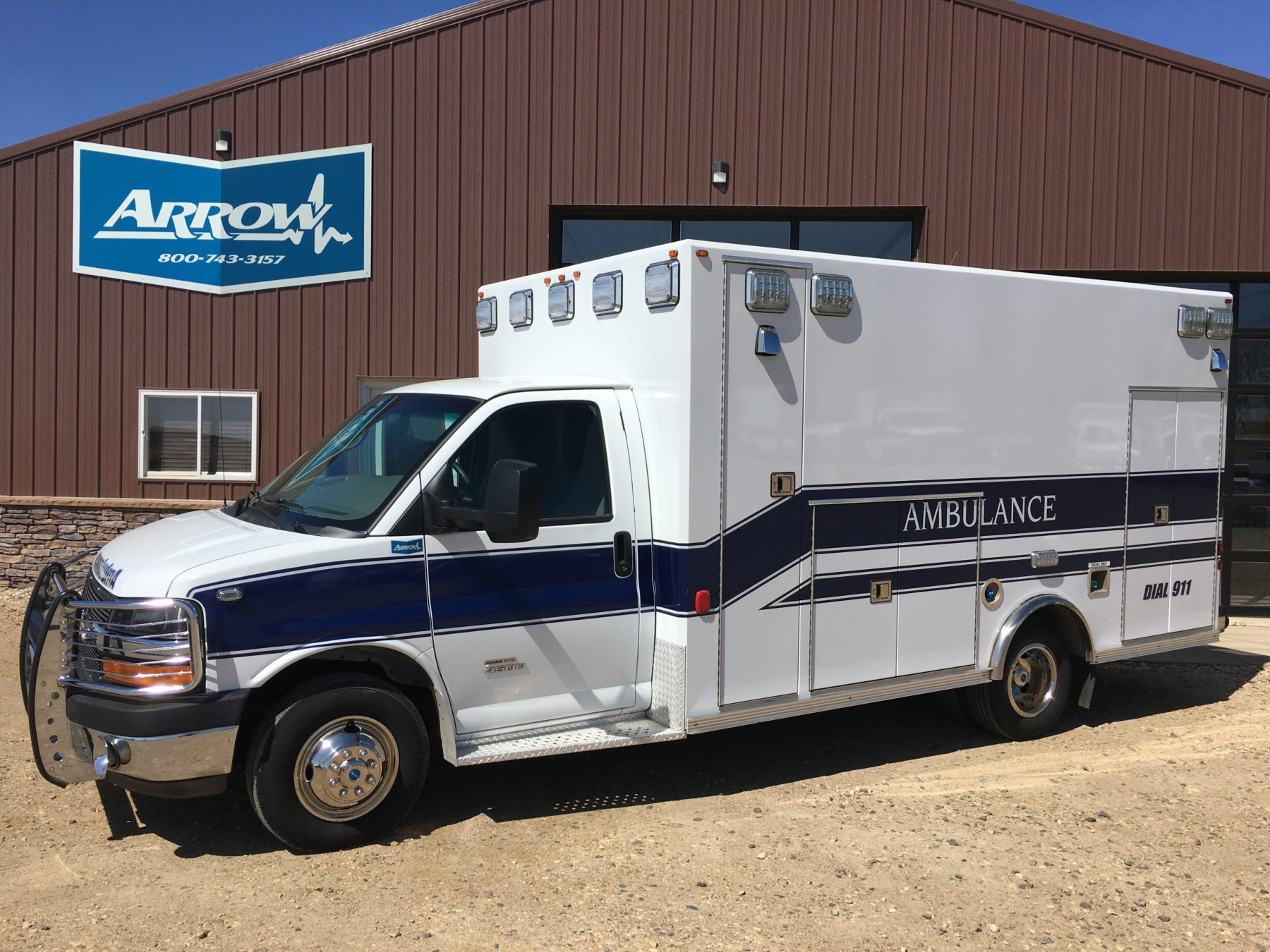 2014 Chevrolet G4500 Type 3 Ambulance For Sale – Picture 1