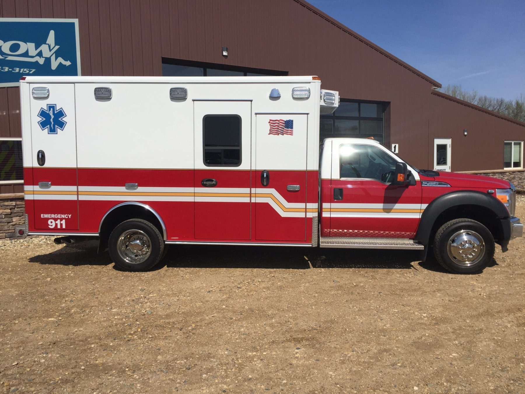 2015 Ford F450 4x4 Type 1 Ambulance For Sale – Picture 4
