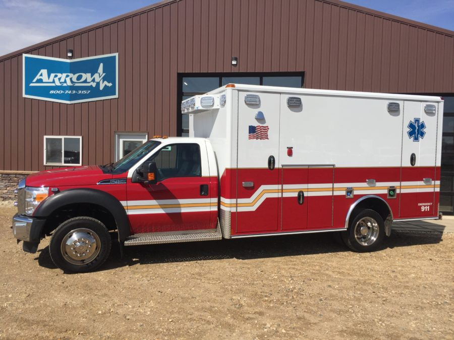 2015 Ford F450 4x4 Type 1 Ambulance For Sale
