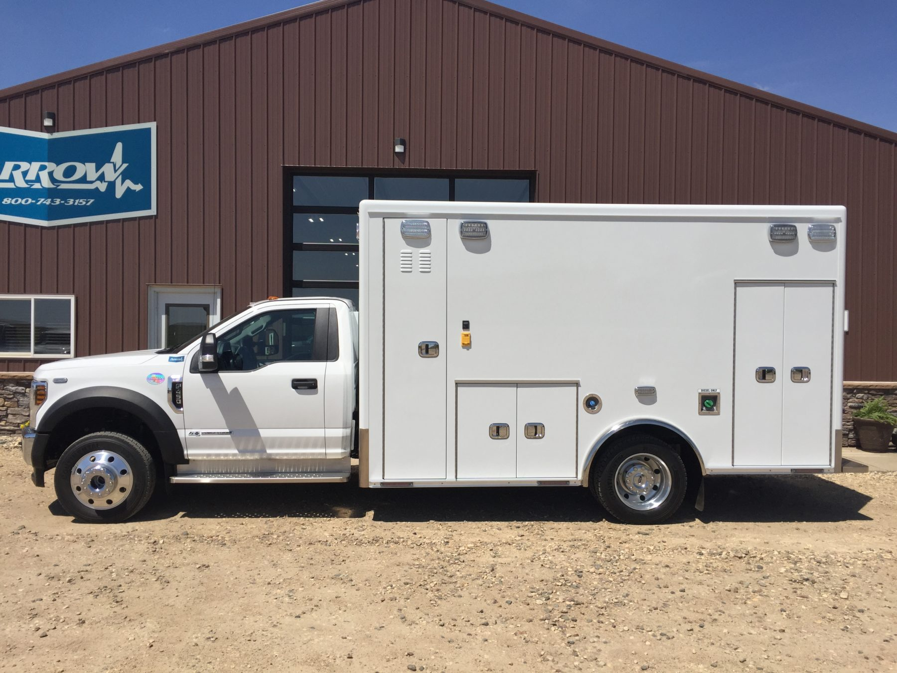 2019 Ford F450 4x4 Heavy Duty Ambulance For Sale – Picture 1