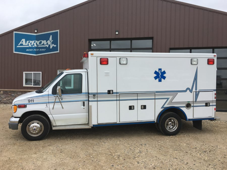 2002 Ford E450 Type 3 Ambulance For Sale – Picture 1