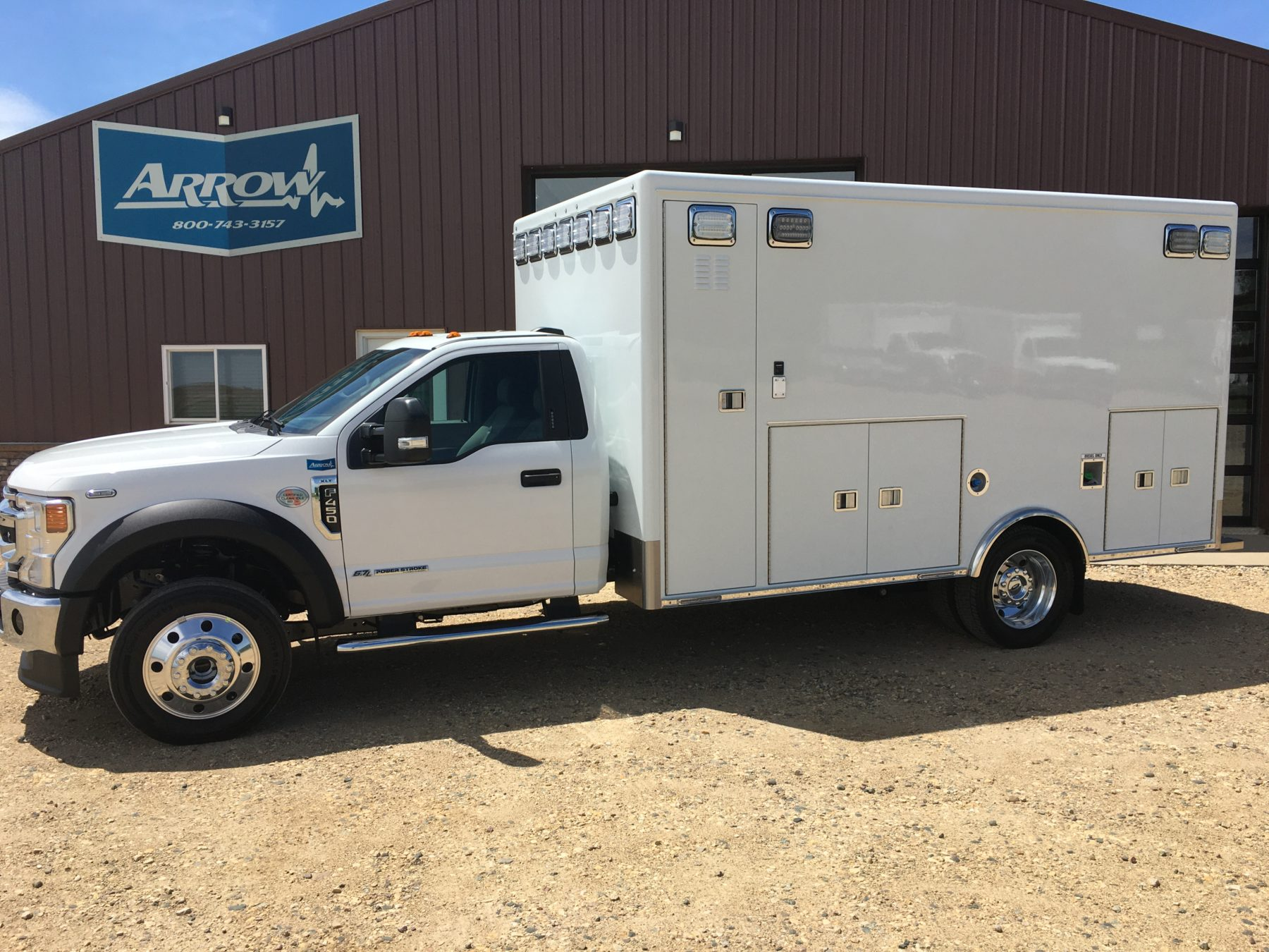 2021 Ford F450 4x4 Heavy Duty Ambulance For Sale – Picture 3