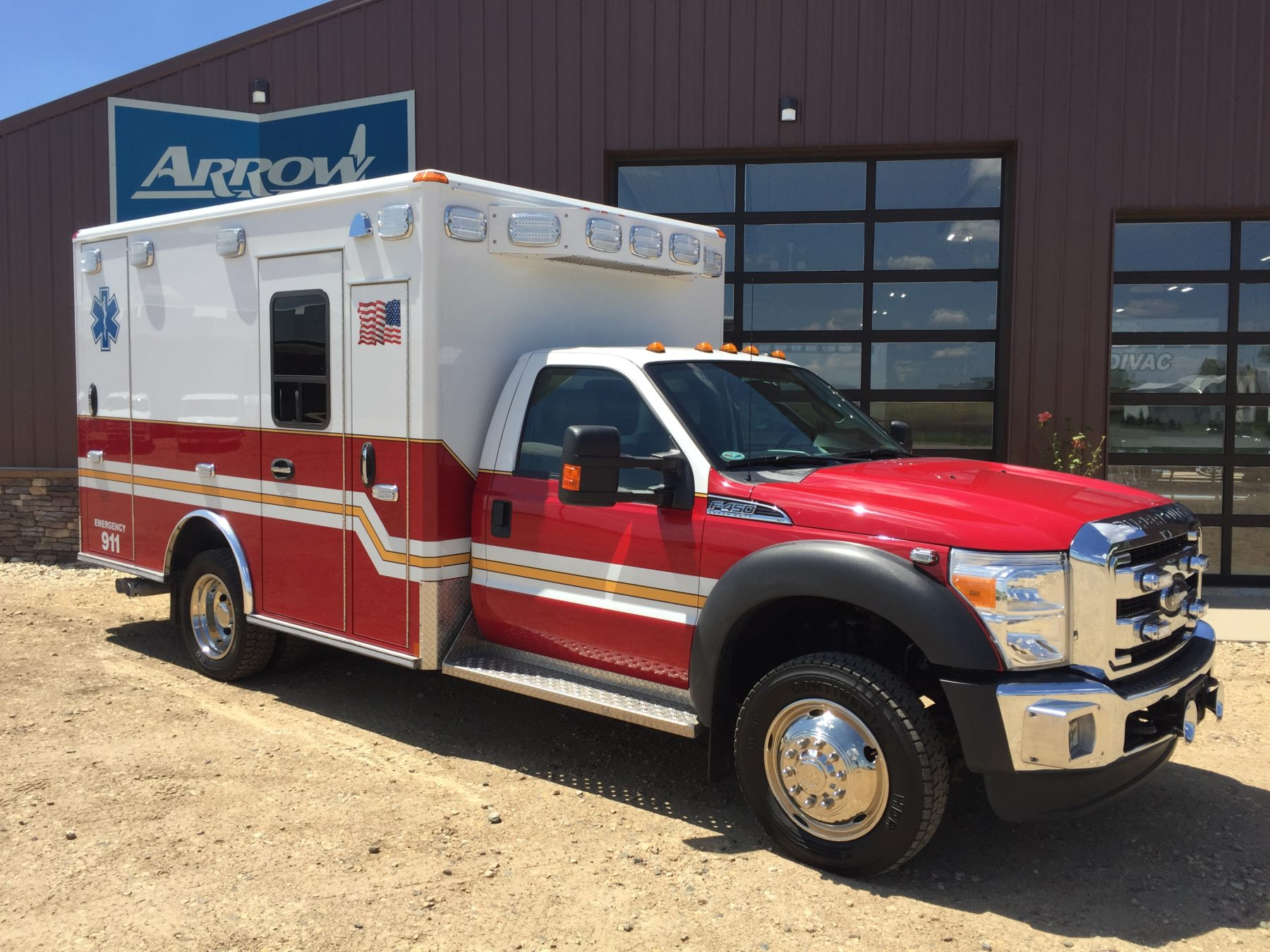 2015 Ford F450 4x4 Type 1 Ambulance For Sale – Picture 3