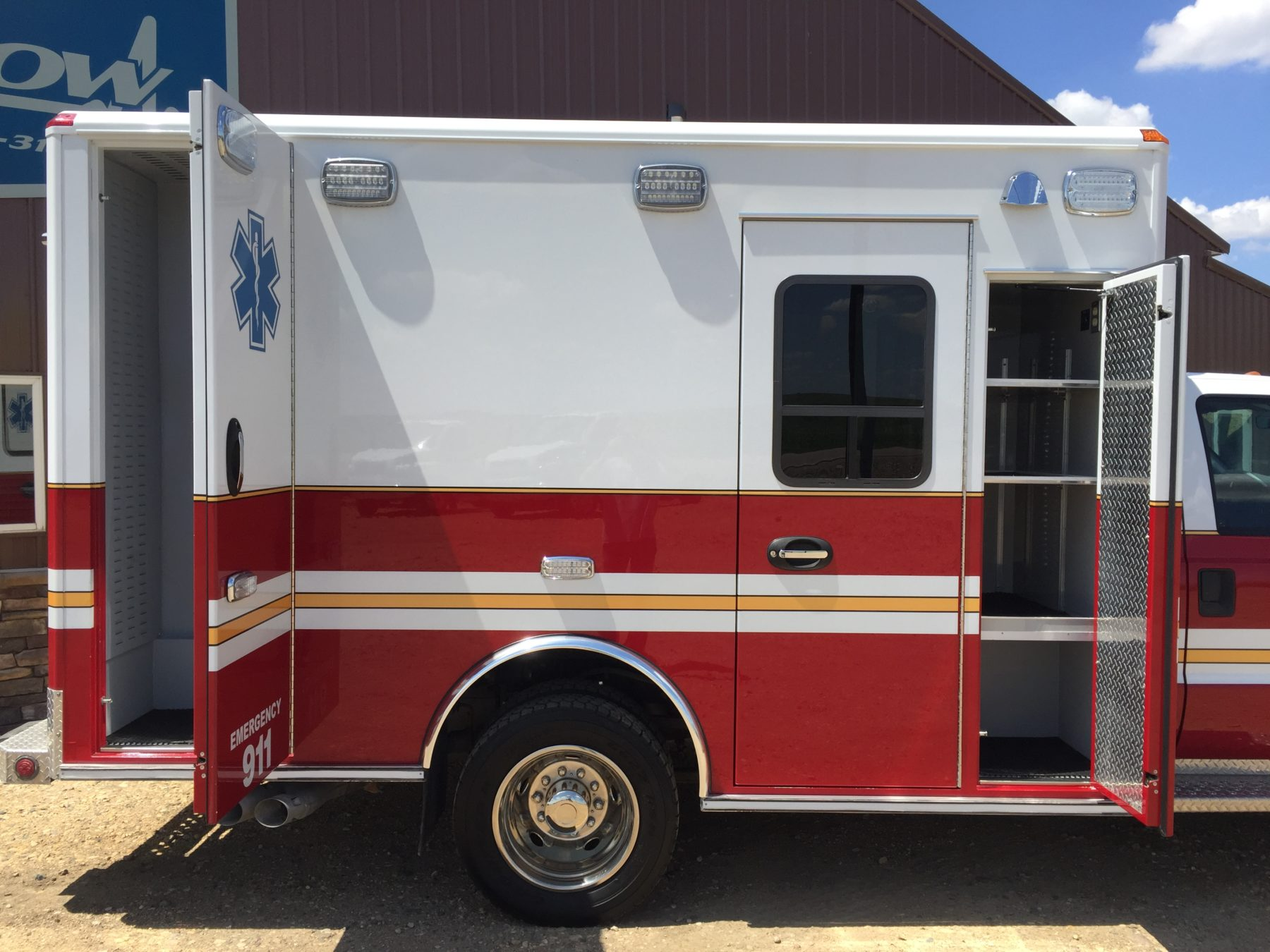 2015 Ford F450 4x4 Type 1 Ambulance For Sale – Picture 7