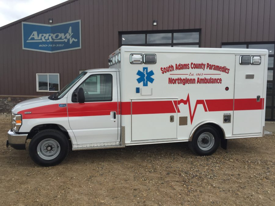 2019 Ford E350 Type 3 Ambulance