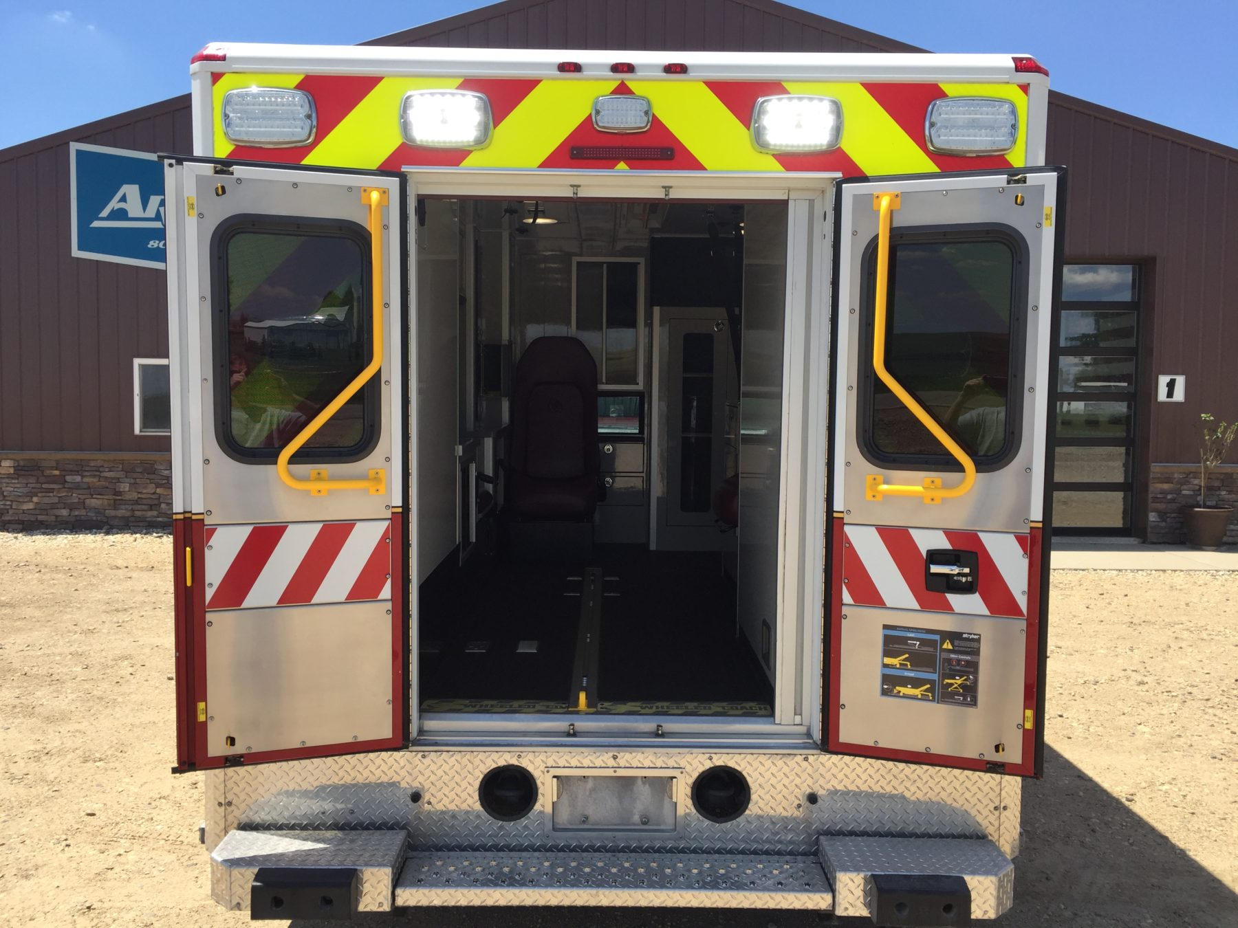 2015 Ford F450 4x4 Type 1 Ambulance For Sale – Picture 9