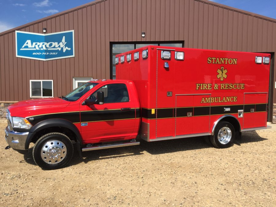 Ambulance delivered to Stanton Fire & Rescue
